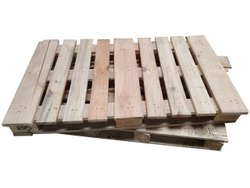 Rectangular 2 Way Jungle Wood Pallets, For Shipping,Packaging, Capacity: 1000 Kg