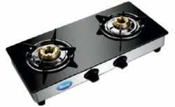SALUTE 2 Flame 104 Gas Stove, For Kitchen, Model Name/Number: 2b Mini Gt