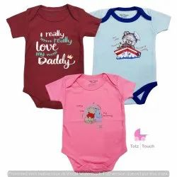 Girl Casual Wear TotzTouch Baby Cotton Rompers Set