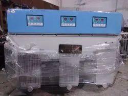340 Volt Oil Cooled 125 Kva Servo Voltage Stabilizer