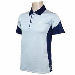 Cotton Pesko Mens Button Closure Dry Fit T Shirt