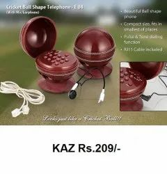 Cricket Ball Shape Telephone