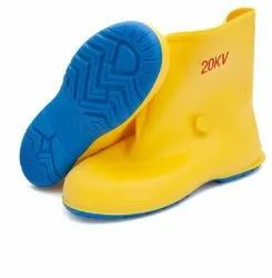 Yellow Antistatic Dielectric Boots