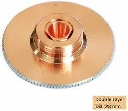 5.0 Mm Double Layer Laser Nozzle