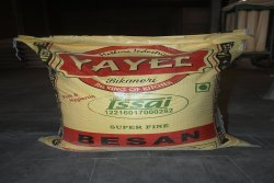 Chana Yayee 10 Kg Super Fine Besan, 9 Gram, Packaging Type: Pp Bag
