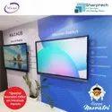 Black Maxhub E75EC Interactive Flat Panel, For Education, Power Consumption: 220 - 300 W