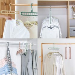 Multicolor plastic hook NEW FOLDING HANGER, For Cloth Hanging, Packaging Type: Box