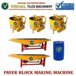 Designer Paving Block Making Machine
