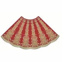 Machine & Hand Embroidered Lehenga