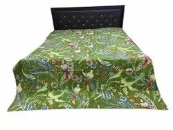 Indian Handmade Cotton Kantha Bedcover