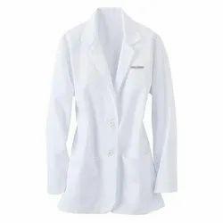 White Full Sleeves Doctor Coat