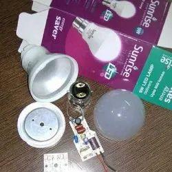 Polycarbonate Round Sunrise 15W LED Bulb