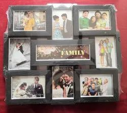 9 In 1 Decorative Plastic Photo Frame, For Decoration and Gifting Purpose