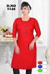 Unbranded Regular Ladies Designer Kurtis