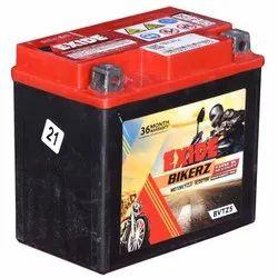 Exide Two Wheeler Battery 5LB, Capacity: 12V