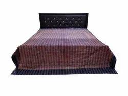 Ajarak Print Indian Kantha Bedcover