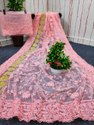 Present Soft Net Saree With  Bridal Occasion And Super Good Looking Saree Collection
