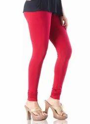 Churidar Plain Ladies Lycra Legging, Size: Free Size