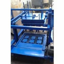 MS Manual Concrete Block Making Machine