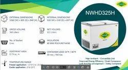 Medium Western NWHD325H Convertible chest freezer