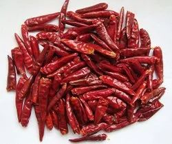 Indian Dry Red Chilli, 50Kg