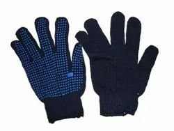 Buying Industries Full Fingered Frontier Cotton Dotted Hand Gloves