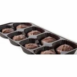 PVC 8 Cavity Chocolate Blister Packaging Tray