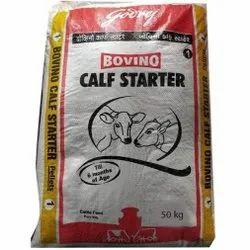 Calf Starter Cattle Feed, Packaging Type: PP Bags, 50 Kg