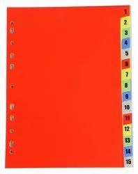 Divider-Z 1 to 15(DV115)