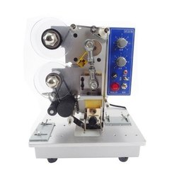 semi automatic rebbon hot coding machine