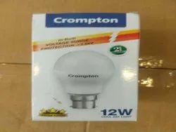 Aluminum Crompton 12 W LED Bulb