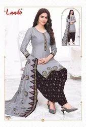 Cotton Multicolor Laado Launched Priti Patiyala Vol 5