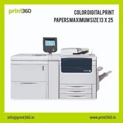 Paper Digital Printing Service, in Local, Size: A3