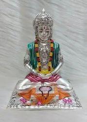 Silver Hanuman Idols
