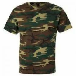 Camouflage Military T Shirt