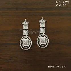 Fusion Arts American Diamond Hanging Earring