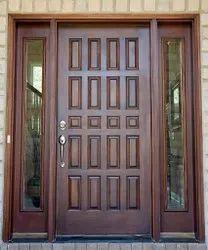 Decorative PVC Door