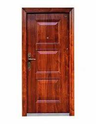 Standard Brown Gi 49 Steel Door, For Office, Single