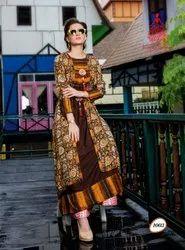 Long Gown Style Rayon Kurtis