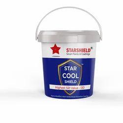 Star Cool Shield (SRI-130) Long Lasting & Heat Resistant Floor Paint To Walk Bare Feet