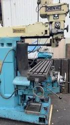 Used & Old Milling Machine Table Size 1300x280 Total 3 Machine
