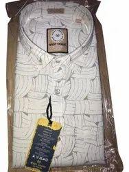 Cotton Collar Neck Men Readymade Printed Shirt