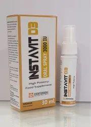 Vitamin D3 Spray for Oral use
