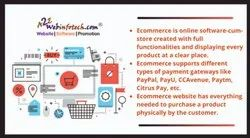 Responsive Ecommerce Website Designing Service, With Online Support