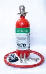Gas Based Fire Suppression System, For Electric Panel,Office, Capacity: 4Kg