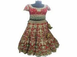 Embroidered Stitched Designer Bridal Lehenga, Size: XS-XL, Top,Bottom And Dupatta
