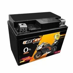 4LB Bike Battery Made In India, Cell Size: LEAD, 12V