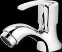 Brass Silver Plantex Aqua Pillar Cock, For Bathroom Fitting, Size: 12 X 11 X 3 Cm