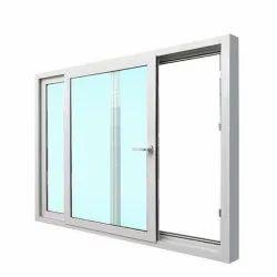 UPVC Sliding Windows, Glass Thickness: 6 Mm