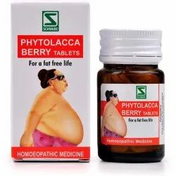 Schwabe Phytolacca Berry Tablets Pack Of 4(Free Worldwide Shipping), Non prescription
